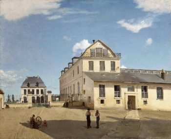 House and Factory of Monsieur Henry | Jean-Baptiste-Camille Corot | oil painting