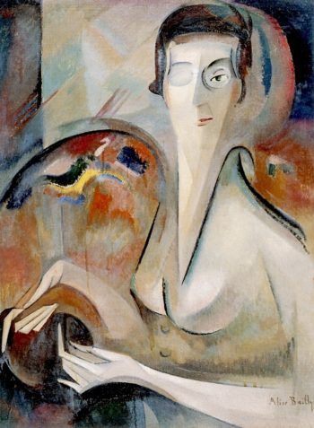 My Portrait | Alice Bailly | oil painting