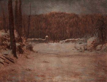 Solitude | Jean-Francois Millet | oil painting