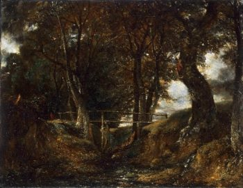 Dell at Helmingham Park | John Constable | oil painting