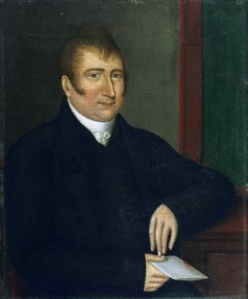 American   Joshua Johnson   oil painting