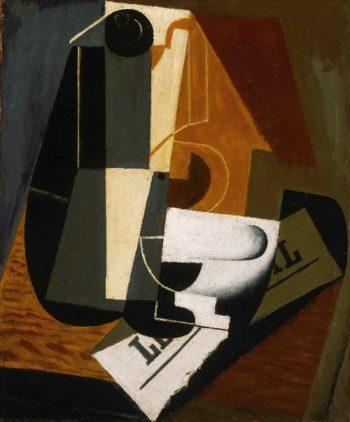 Coffeepot | Juan Gris (Jose Victoriano Gonzalez Perez) | oil painting