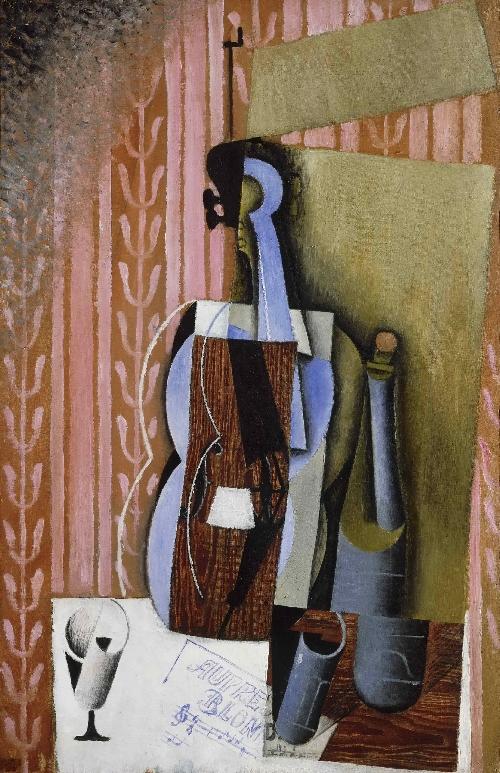 Violin | Juan Gris (Jose Victoriano Gonzalez Perez) | oil painting