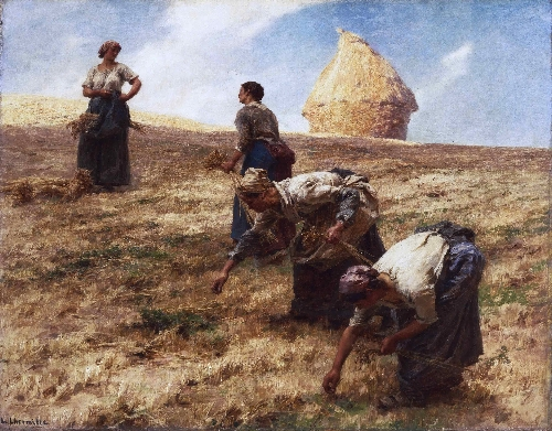 The Gleaners | Leon-Augustin Lhermitte | oil painting