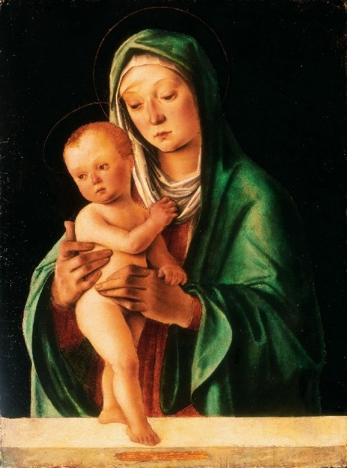 Virgin and Child | Lorenzo di Ottavio Costa | oil painting