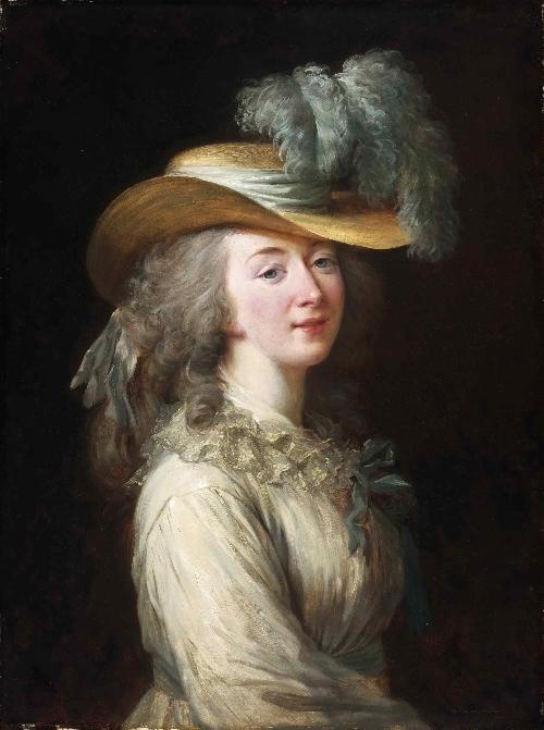 Portrait of Madame Du Barry | Louise-Elisabeth Vigee-Lebrun | oil painting