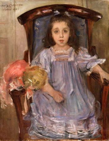Portrait of Sophie Cassirer | Lovis Corinth | oil painting