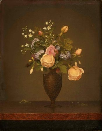 Still Life with Flowers | Martin Johnson Heade | oil painting