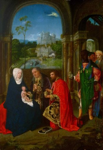 The Adoration of the Magi | Master of Hoogstraeten | oil painting
