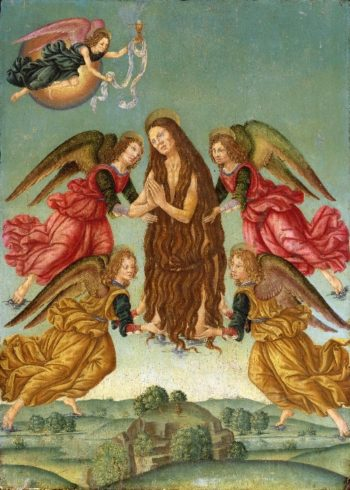 The Ascension of Saint Mary Magdalene | Master of the Johnson Ascension of Saint Mary Magdalene | oil painting