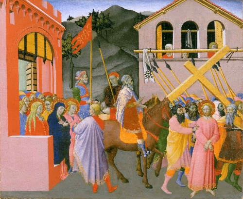 Christ Carrying the Cross | Master of the Osservanza | oil painting