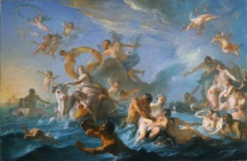 The Abduction of Europa | Noel-Nicolas Coypel | oil painting