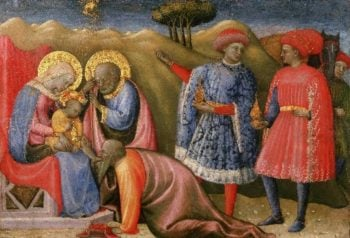 The Adoration of the Magi | Paolo Schiavo (Paolo di Stefano Badaloni) | oil painting