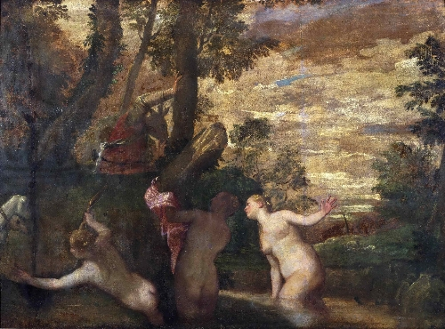 Diana and Actaeon | Paolo Veronese (Paolo di Gabriele Caliari) | oil painting