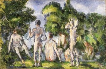 Group of Bathers | Paul Cezanne | oil painting
