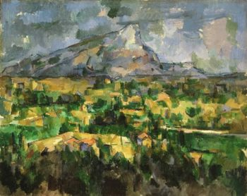 Mont Sainte-Victoire | Paul Cezanne | oil painting