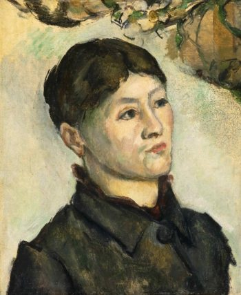 Portrait of Madame Cezanne | Paul Cezanne | oil painting