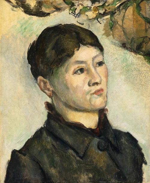 Portrait of Madame Cezanne   Paul Cezanne   oil painting