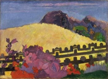 The Sacred Mountain (Parahi Te Marae) | Paul Gauguin | oil painting