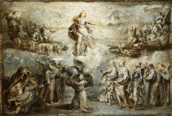 Franciscan Allegory in Honor of the Immaculate Conception | Peter Paul Rubens | oil painting