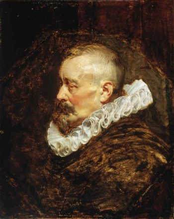 Portrait of a Gentleman (possibly Burgomaster Nicholaes Rockox) | Peter Paul Rubens | oil painting