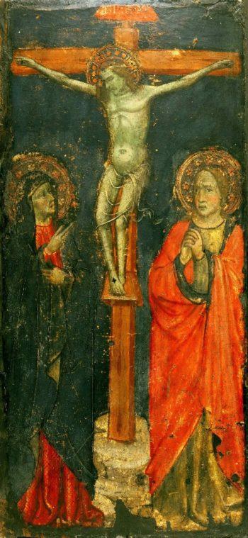 The Crucifixion | Piero di Miniato (Attributed) | oil painting