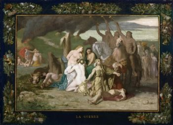 War | Pierre Puvis de Chavannes | oil painting