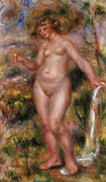 Bather | Pierre-Auguste Renoir | oil painting