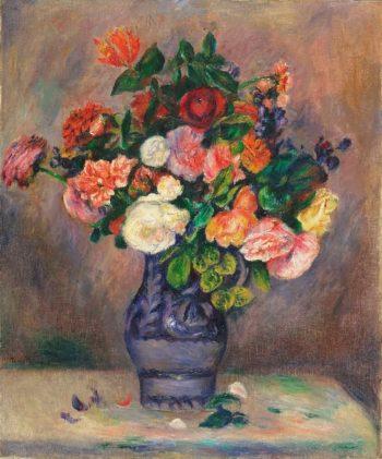 Flowers in a Vase | Pierre-Auguste Renoir | oil painting