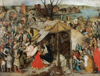 The Adoration of the Magi | Pieter Brueghel the Younger | oil painting