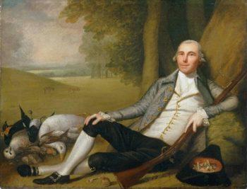 Reclining Hunter | Ralph Earl | oil painting