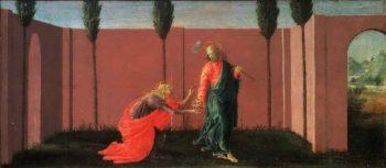 Noli Me Tangere   Sandro Botticelli (Alessandro di Mariano Filipepi)   oil painting