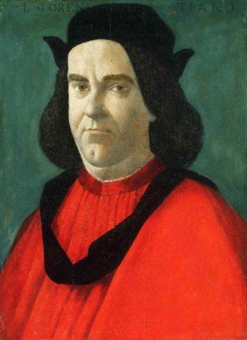 Portrait of Lorenzo de Lorenzi   Sandro Botticelli (Alessandro di Mariano Filipepi)   oil painting