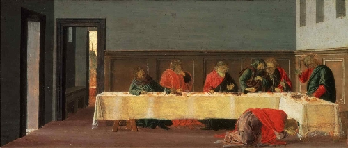 The Feast in the House of Simon | Sandro Botticelli (Alessandro di Mariano Filipepi) | oil painting