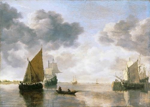 Marine | Simon Jacobsz de Vlieger | oil painting