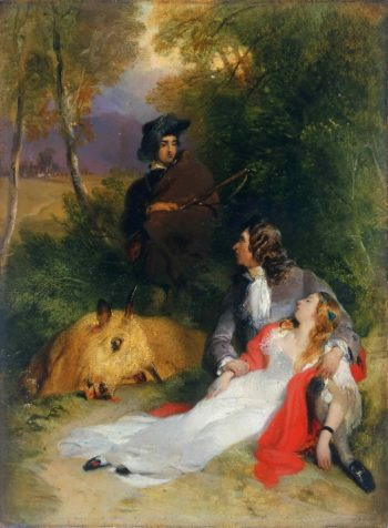 The Bride of Lammermoor | Sir Edwin Landseer | oil painting