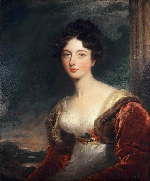 Portrait of Mrs. James Fraser of Castle Fraser | Sir Thomas Lawrence | oil painting
