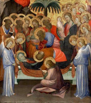 Dormition of the Virgin | Starnina (Gherardo di Jacopo di Neri) | oil painting
