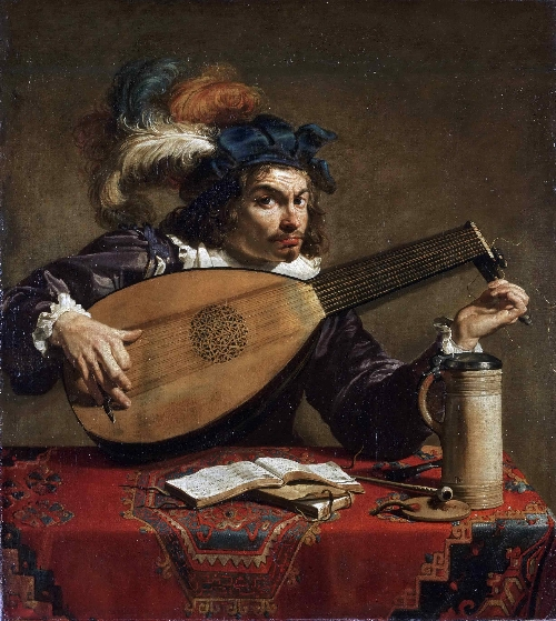 Lute Player | Theodor Rombouts | oil painting
