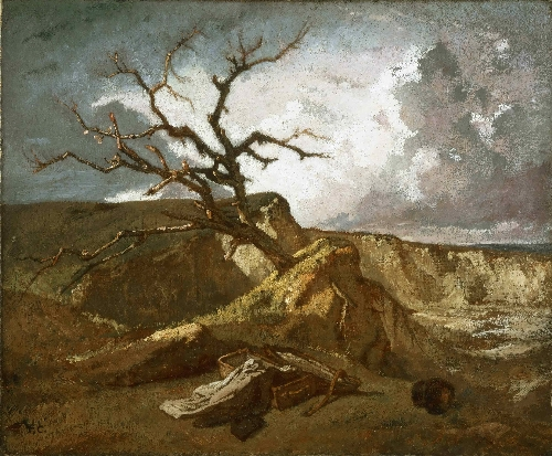 Landscape near the Sea | Thomas Couture | oil painting