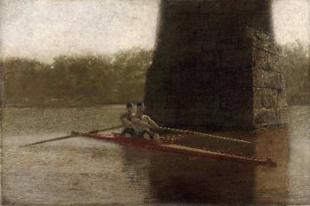 The Pair-Oared Shell | Thomas Eakins | oil painting