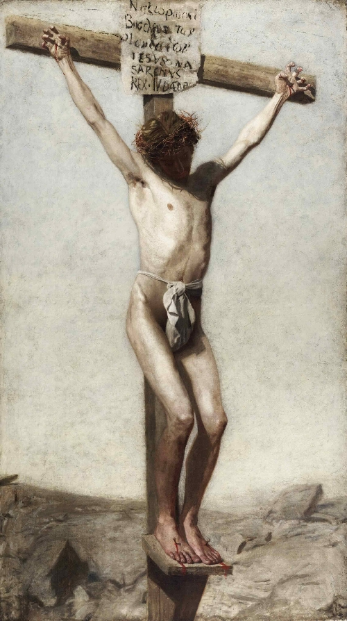 The Crucifixion | Thomas Eakins | oil painting