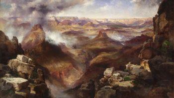 Grand Canyon of the Colorado River   Thomas Moran   oil painting