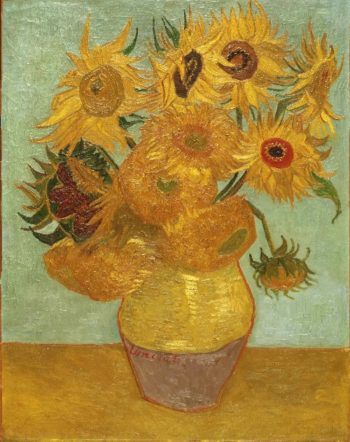 Sunflowers | Vincent Willem van Gogh | oil painting