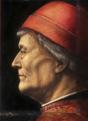Portrait of an Elderly Gentleman | Vincenzo Foppa | oil painting