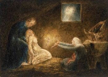 The Nativity | William Blake | oil painting