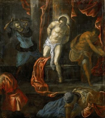 Flagellation of Christ | Jacopo Tintoretto | oil painting