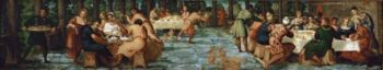 Belsazars Feast | Jacopo Tintoretto | oil painting