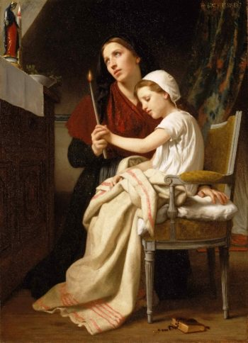 The Thank Offering | William-Adolphe Bouguereau | oil painting