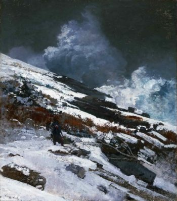 Winter Coast | Winslow Homer | oil painting